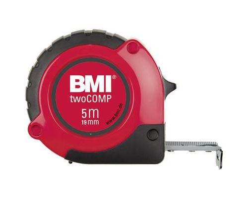 BMI 472241021 m à ruban de poche Two Comp, Multicolore, 2 m