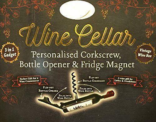 Ouvre-bouteilles de cave à vin aimants - Marie