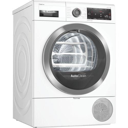 Bosch Serie | 8 WTX87KH9FF - Sèche-linge - indépendant - WiFi - largeur : 59.8 cm - profondeur : 63.4 cm - hauteur : 84.2 cm - chargement frontal - blanc