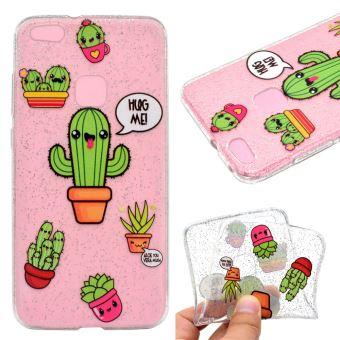 coque huawei p10 lite cactus
