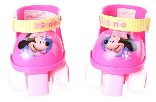 Disney patins à roulettes Minnie Mouse filles rose/blanc taille 23-27