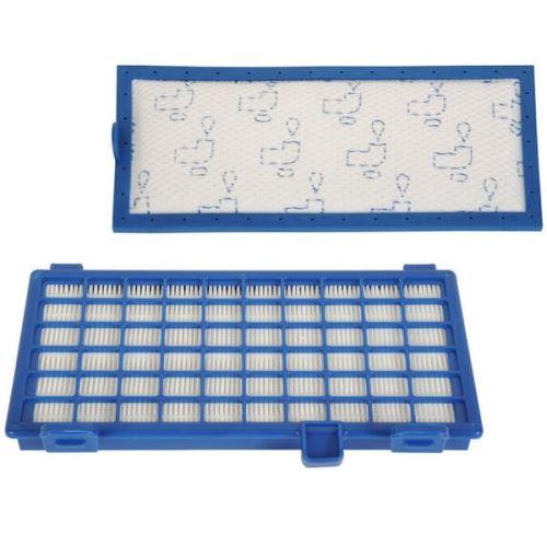 Filtre hepa + filtre mousse 205x95mm pour Aspirateur Rowenta