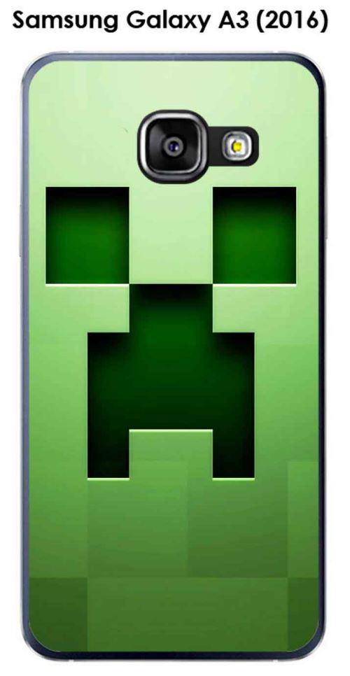 Coque Samsung Galaxy A3 (2016) - A310F design Minecraft - 1