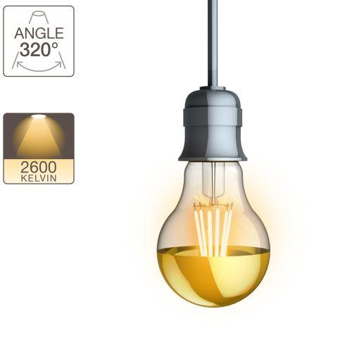 Ampoule LED A60- culot E27 - vintage