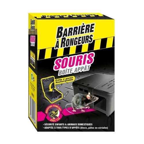 barriere a rongeurs boîte appât souris