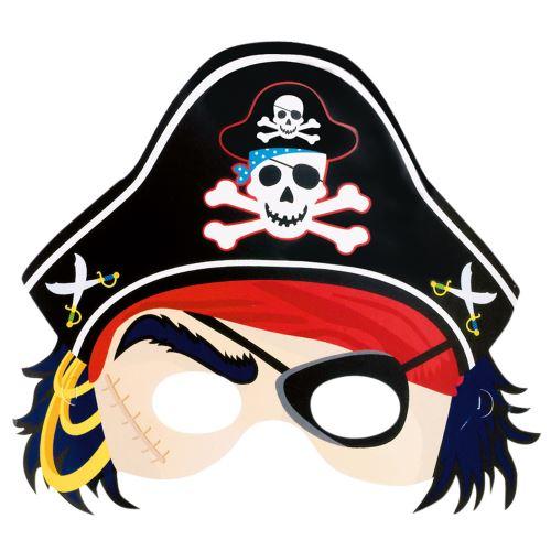 Amscan papier masque pirate 21,6 x 22,8 cm