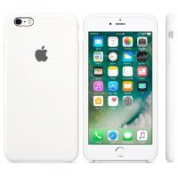 Coque Apple pour iPhone 6s en silicone Blanche