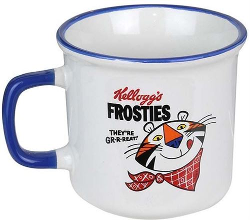 Kellogg's - Mug céramique Kellogg's 25 cl Bleu