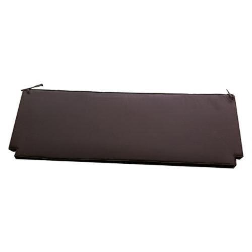 Coussin chocolat pour banc 180 cm