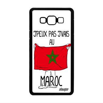 Coque Telephone Samsung A7 J Peux Pas J Vais Au Maroc Dessin