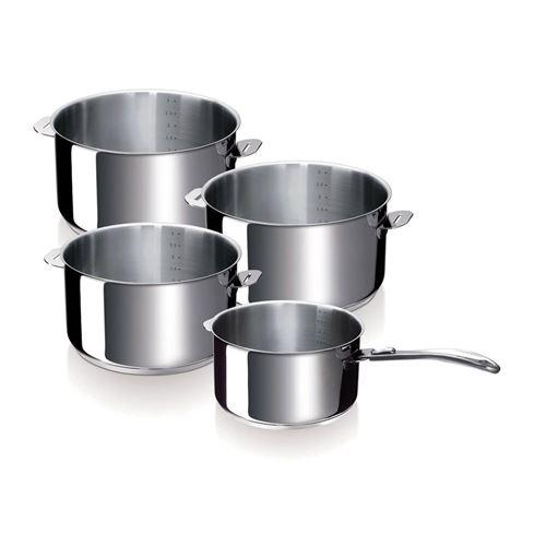 Série de 4 casseroles Evolution Beka