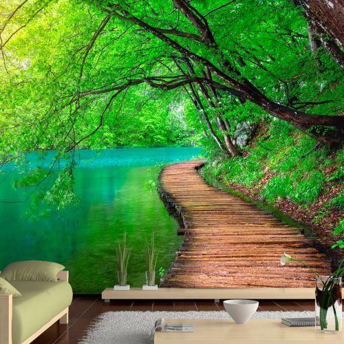 100x70 Papier peint Moderne Green peace