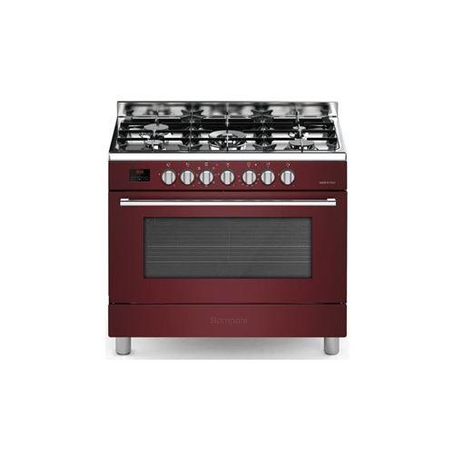 db78a4b9247 Bompani Bomfe96bx - Cuisiniere Table Gaz-5 Foyers-four  Electrique-catalyse-119l-l 90 X H 85 Cm-bordeaux - Achat   prix