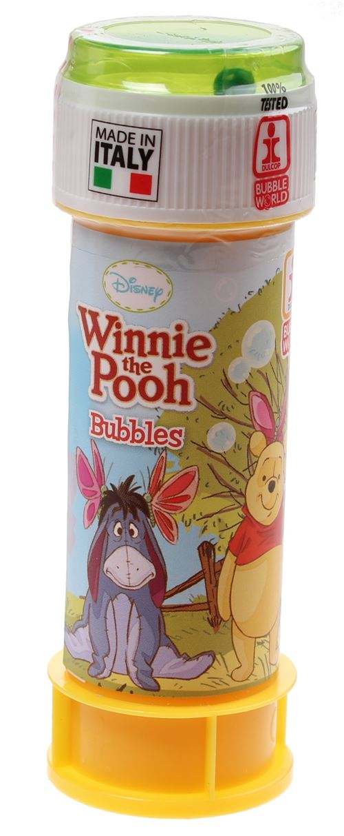 Disney Bubble Winnie l'ourson 60ml vert