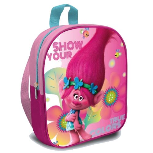 Sac a dos Poppy, les Trolls, ecole maternelle