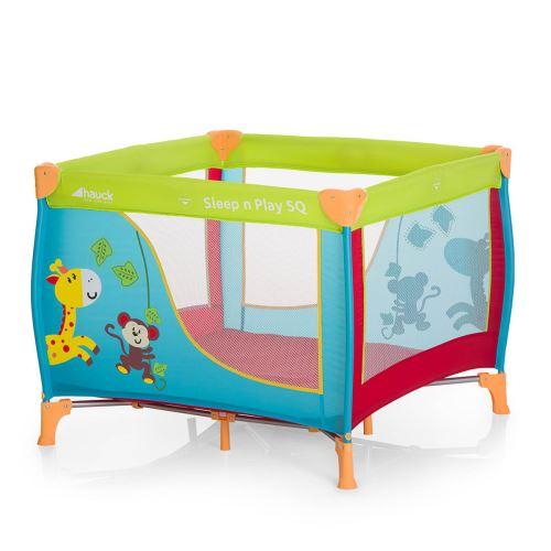 Lit Parapluie Sleep and Play SQ - Jungle Fun