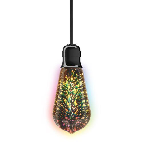 Ampoule LED ST64, cuLot E27, fireworks