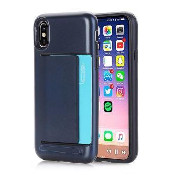 variété de dessins et de couleurs nouveau style de 2019 couleurs harmonieuses COQUE IPHONE 8+, porte cartes bleu marine - 484X - Etui pour ...