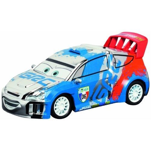 Cars rc silver et bleu raoul - dickie - voiture radiocommandée disney