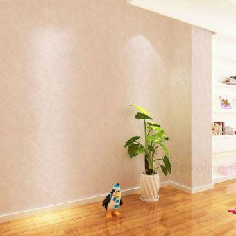 Papier Peint Moderne Pvc Vinyle Uni Revetements Muraux Orange 5 3m2