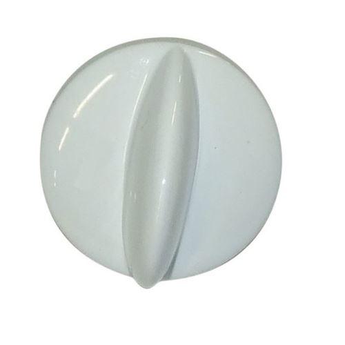 Bouton blanc bruleur pour cuisiniere faure - 6476194