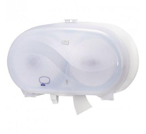 Distributeur de papier toilette compact