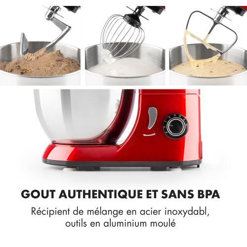 77 Sur Klarstein Bella Pico Rossa Mini Robot De Cuisine Patissier