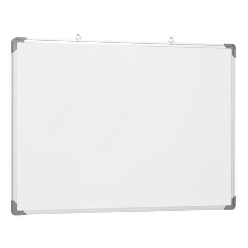 Tableau blanc aimante magnetique cadre aluminium 90x60cm