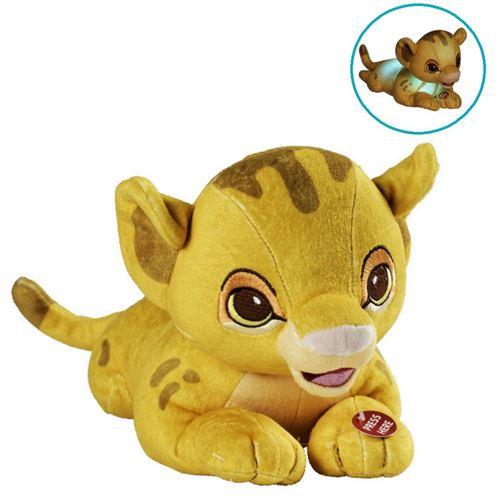 Peluche lumineuse - Disney Roi lion - Bébé Simba