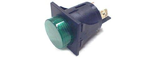 Interrupteur 2 cosses vert pour Expresso Chromex