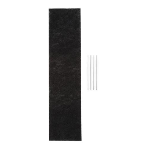 Klarstein Royal Flush 90 Filtre à charbon actif pour hotte aspirante 90cm - 67 x 0,5 x 16,7cm