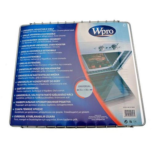 Grille universelle extensible (35-56cmx32,5cm) Accessoires et entretien 484000008807 WPRO - 60217