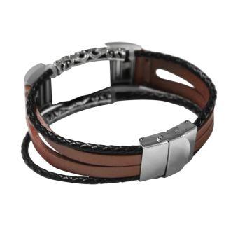 charge 2 bracelet cuir
