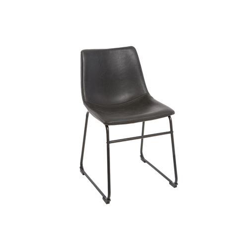 Chaise vintage noir NEW ROCK