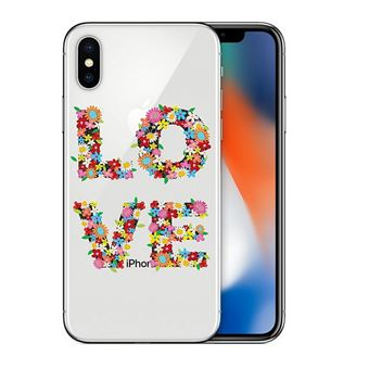 coque iphone xs fleur