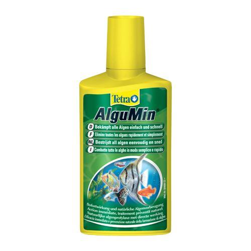 Anti-algues tetra algumin pour aquarium contenance 250 ml