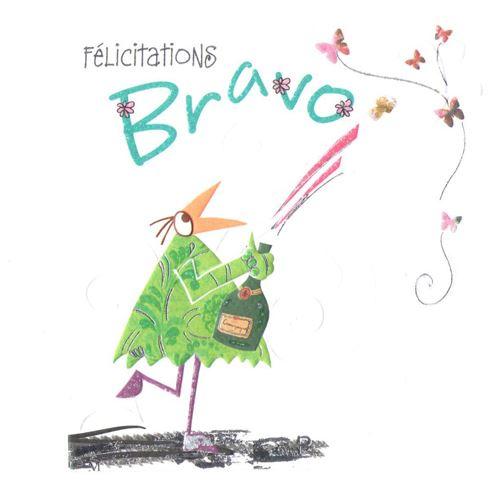 Carte Félicitations Bravo - Carte de correspondance - Achat & prix | fnac