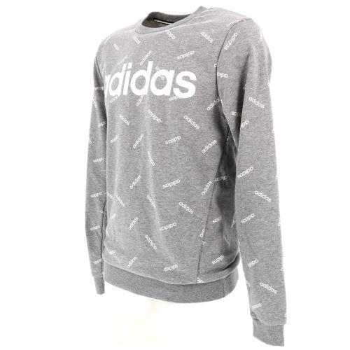 Sweat Adidas M aop gris chine sweat Gris taille : XS réf : 0