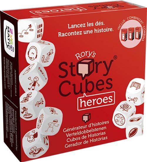 Jeu de société Story Cubes Heroes (Rouge) - 1 joueur et + - dès 6 ans