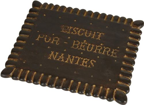 Antic Line Créations - Dessous de plat Biscuit
