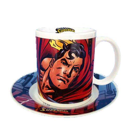 Coffret Mug et Assiette Superman