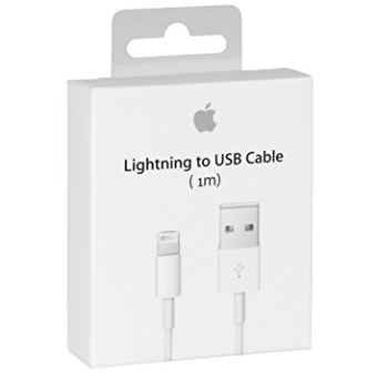 Apple Lightning to USB Cable - iPad / iPhone / iPod opladen / datakabel - Lightning / USB - 1 m