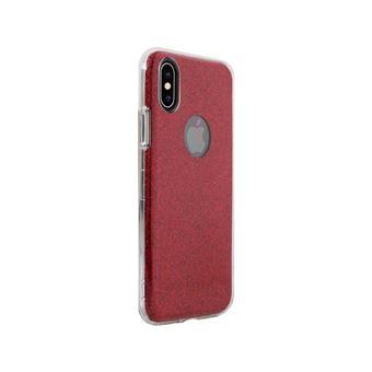 coque apple iphone xs rouge