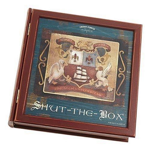 Édition de bibliothèque Shut-The-Box Classics de Front Porch