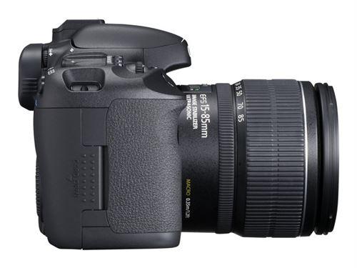 Canon EOS 7D - Appareil photo numérique - Reflex - 18.0 MP - APS-C - 1080p - 5.6x zoom optique objectif EF-S 15-85 mm IS USM