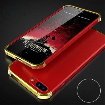 coque iphone 7 rouge et or