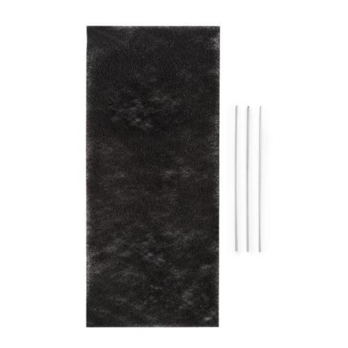 Klarstein Royal Flush 60 Filtre à charbon actif pour hotte aspirante 60cm - 37,5 x 0,5 x 16,7cm