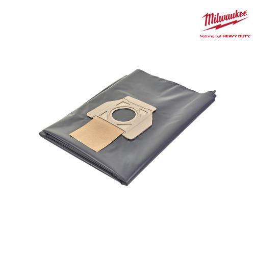 Sacs jetables MILWAUKEE - pour aspirateur AS 30/42- 30L x5 4932459690