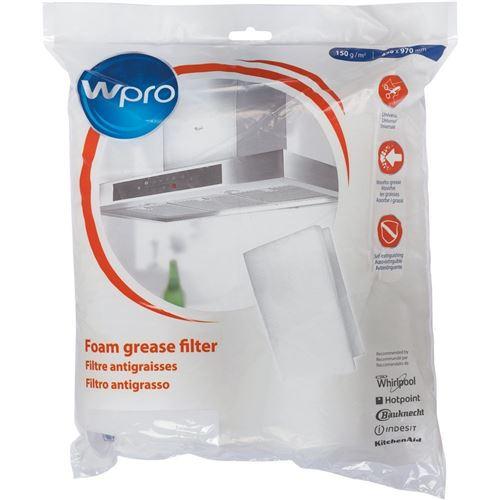 Filtre 2 en 1 antiodeurs et anti-graisse en mousse à découper Accessoires et entretien 484000008523 WPRO - 52307