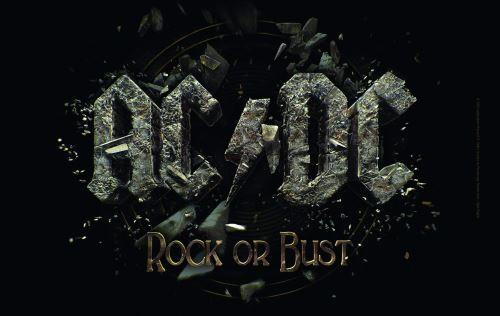 AC/DC bfbac3 Petit-déjeuner, Plastique, Noir